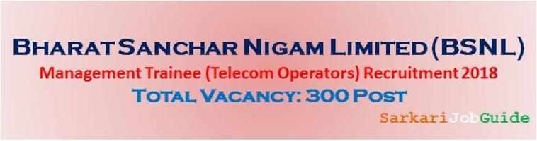 BSNL Telecom Operators Recruitment