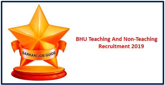 BHUTeaching AndNon-Teaching Recruitment