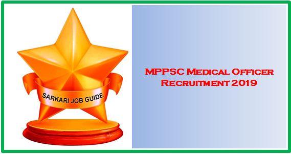 MPPSC Medical Officer Recruitment 2019