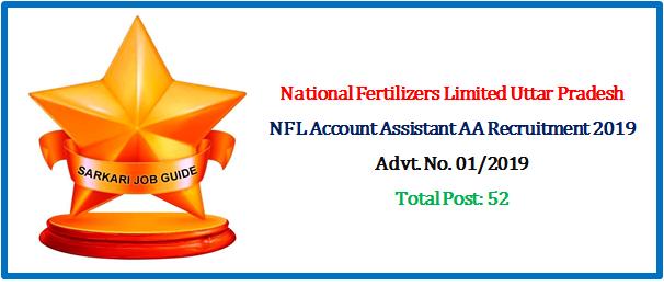NFL Account Assistant AA Recruitment